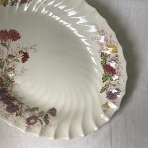 タンポポ柄の大皿