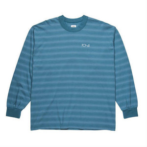 POLAR SKATE CO. Gradient Longsleeve Grey Blue M ポーラー ロングスリーブ Tシャツ