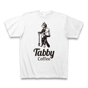 Tabby Cat Tシャツ(ホワイト)