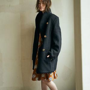 """""""NINA RICCI"""" wool coat"""