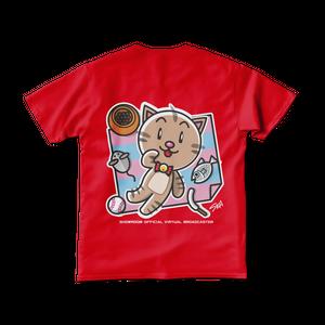<レッドTシャツ 背面>レジャーみーちゃん