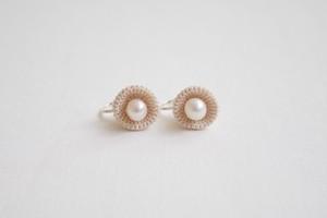 kobana 01 / ecru / earring
