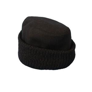 KNIT&MELTON CAP 2(COMESANDGOES)
