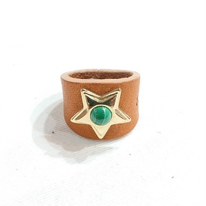 TULSI(トゥルシ) STELLA RING MALACHITE