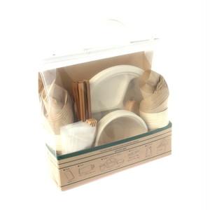 コストコ エコフレンドリーピクニックパック 皿ボウルカップ各15セット | Costco Eco-friendly Picnic pack 15sets