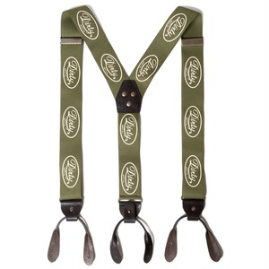 AT-DIRTY(アットダーティー)/WORKERS SUSPENDERS (GREEN)