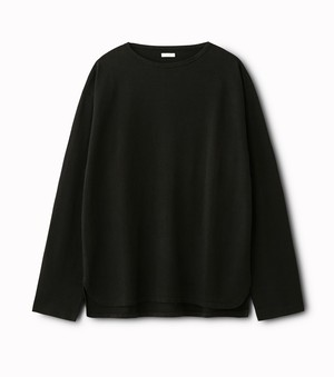 "PHIGVEL ""C/P BOAT NECK LS TOP"""