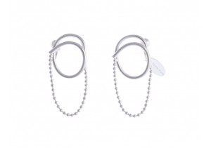 【Sea'ds mara】Combination ball chain Earrings