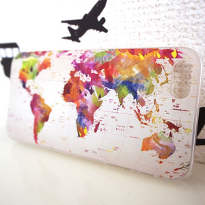 【アウトレット】Worldmap iPhone case【iPhone6,6s用】
