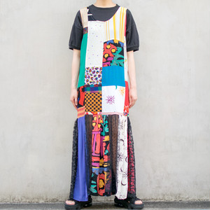 Patchwork Design Dress