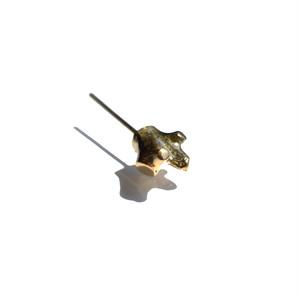permanent no.02 gold (K18ピアス)