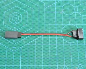 MYLAPポンダー電源変換ケーブル