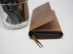 リバースレザーの長財布 / wallet