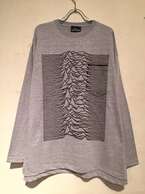 "WIDE SILHOUETTE L/S POCKET Tee ""CP1919"" (HEATHER GRAY)"