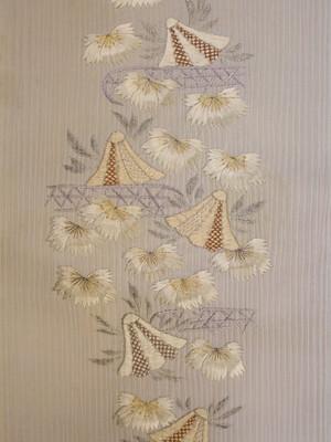 撫子刺繍半襟