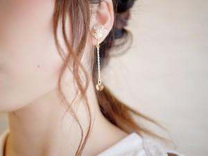 crystal pierce/earring