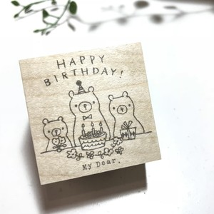 Happy Birthday!3匹のくま。