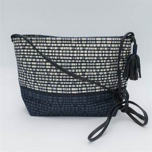 "Atelier Nihal / SHOLDER BAG ""Navy mix"""