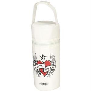 ロックスターベイビー 哺乳瓶ケース ハート&ウイング