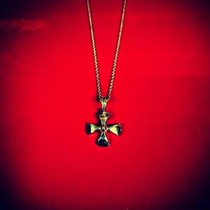 【送料無料】K18 Gold Crux Necklace Producted by NOBILIS【品番 15A2001】