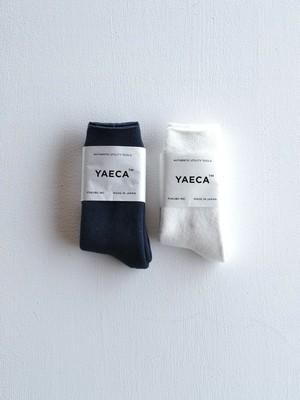 YAECA コットンパイルソックス