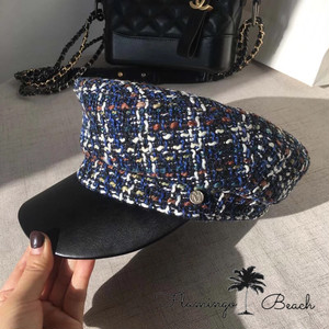 【FlamingoBeach】tweed hat