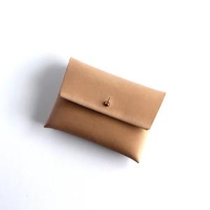 suare card case #brown beige/ スアレカードケース・名刺入れ #ブラウンベージュ