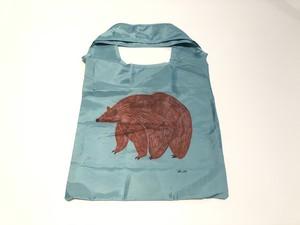 Matsuo Miyuiki 【松尾ミユキ】  BEAR Eco Bag エコバッグ くま green