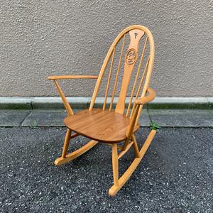 Ercol Swanback Rocking Chair / アーコール スワンバック ロッキングチェア / 1904-0057