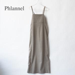Phlannel/フランネル・Wool Flannel Apron Skirt