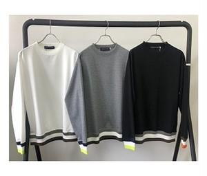 【予約商品:9月22日~入荷予定】Color Block Rib Crew Sweat Shirts
