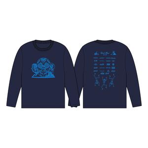 BURSTMAX'18ロングTシャツ(ネイビー)