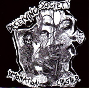 Deceiving Society ‎– Detonation Cruster  LP (USED)