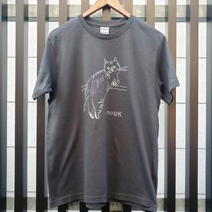 11周年「おもてにゃしかもめTシャツ」 スミ
