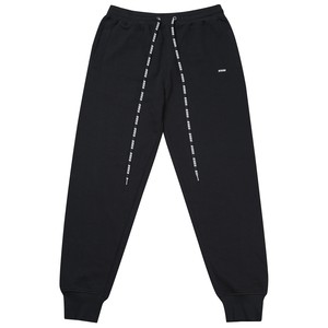 LOGO REPEAT SWEATPANTS (BLACK)