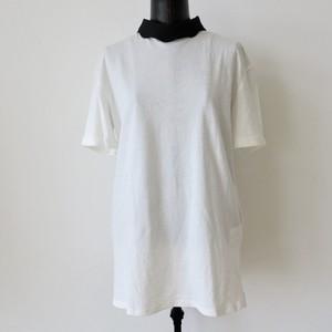 スタンドカラーTシャツ:SOUー73 ¥12,000+tax