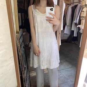 embroidery cotton dress