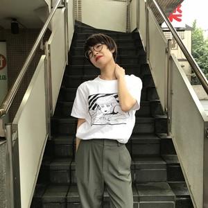 【通販開始!!】オザキエミ デザイン 「手紙」Tシャツ
