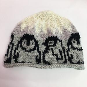ゑでぃのニット帽 ペンギン