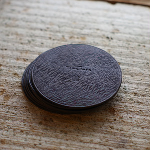 Therese Coaster Kudu Leather