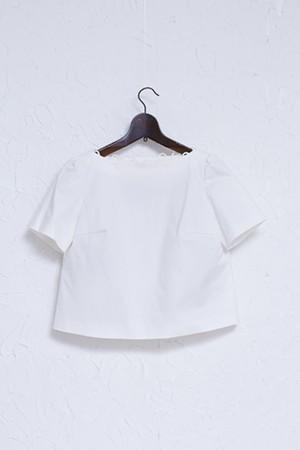SAMPLE SALE ★ 展示会-白- ループブラウス