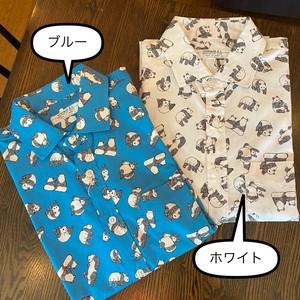 【日本製】パンダ柄 長袖シャツ