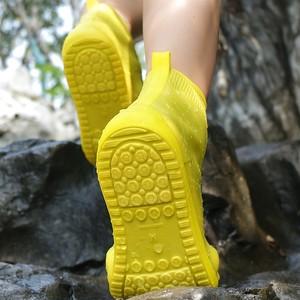 【シューズ】防水雨用シンプル透明雨靴カバー41797888