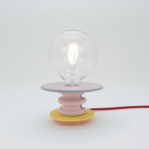 パープルテーブルランプ|Frutti Lamp