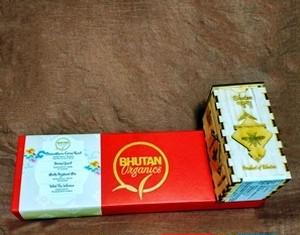BHUTAN Organicsブータン産ハーブティー&Pure Happy Honeyホワイトクローバーはちみつセット