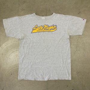 "80's Champion Tricolor Tag Printed T-Shirt ""XL"""