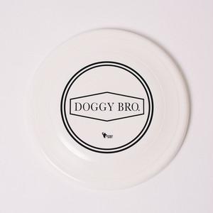 DOGGY BRO.(ドギーブロ) ロゴディスク【ホワイトLサイズ】