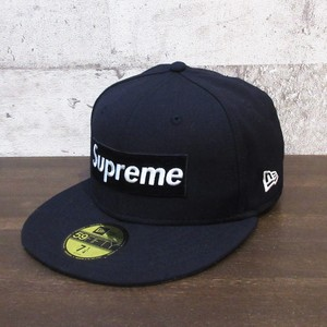 SUPREME 16AW Rip. New Era Box Logo Cap