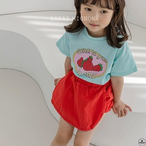 «sold out» strawberry T shirt 2colors いちごTシャツ