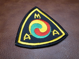 AMA MEDIUM SIZE Vintage Patch(American Motorcycle Association)